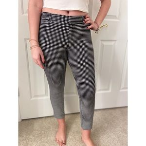 Houndstooth pixie pant
